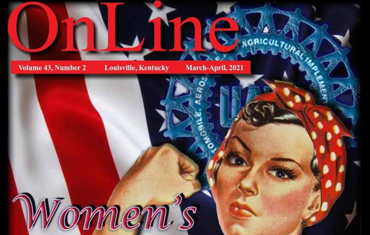 UAW 862 OnLine Mar/April Rosie the Riveter