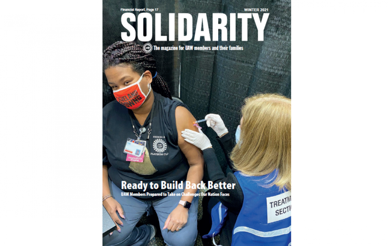 Solidarity Magazine Winter 2021